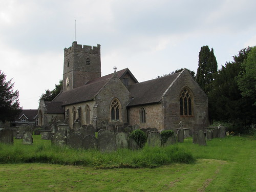 English Bicknor: Church of St Mary (Gloucestershire)
