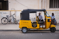 Puducherry (chamorojas) Tags: 60d chamorojas albertorojas autorickshaw bicycle bike india pondicherry puducherry tuktuk