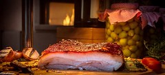 Roast Pork Belly - magic by Chef Atish H Pawar A definite highlight from the recent Father Day's Brunch at the Corriander Kitchen. (WhyCallSarah) Tags: from kitchen june by 26 magic father days roast pork belly h chef brunch highlight recent corriander 2016 atish definite a pawar 1024pm