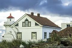 Mukilteo Lighthouse- Explored 6/2/16 (Beth Madigan) Tags: lighthouse storm beach clouds easter washington wa muk mukilteo mukilteolighthouse