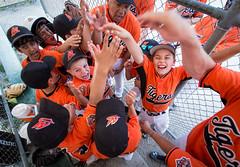 (Kevin Sousa Photography) Tags: kids championship high baseball five celebration cheer minor mnba semifinals