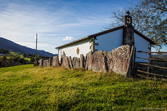 San Esteban (SantiMB.Photos) Tags: 2blogger 2tumblr 2ig ermita hermitage paisaje landscape baztn navarra otoo vacaciones2015 olazur espaa esp