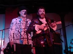 Sexy KC 27/06/16: Foster & Gilvan #1 (Diamond Geyser) Tags: show music clown onstage 100club princetribute karaokecircus fozfoster barongilvan fostergilvan fosterandgilvan sexykc