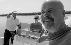 Speed boat ride. (CWhatPhotos) Tags: pictures sky people sun lake holiday hot water june digital speed that de fun island four photography la boat day skies foto ride steering image artistic time pics speedboat cuba fast sunny pic olympus lagoon images calm clear have photographs coco photograph fotos captain laguna steer cuban which leche contain cayo causeway hols 2016 hirds lagunadelaleche cwhatphotos
