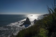 Cape Foulwind #2 (oldad57) Tags: travel blue newzealand rocks pentax shore southisland k5