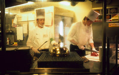 Steak House. (monkeyanselm) Tags: leica m6ttl 058x 35mmf14 summilux asph fujifilm provia rangefinder analog camera film tokyo japan december 2015