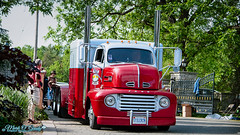 Ford Cabover (Mark O'Grady - Proudly Serving Millions of Viewers) Tags: 2016 2016fleetwoodcountrycruizein auto automobile car classic classicautomobilephotography mospeedimages markogradydigitalstudio transportation fordmotorcompany ford coe cabover tandemaxle semi bigrig