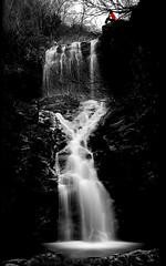 Llanto. / Weeping. (Oscar Martn Antn) Tags: longexposure espaa waterfall spain agua silk alta len weeping cascada largaexposicin llanto teleno sedas