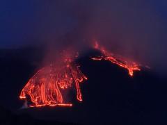 Even when it's over, a paroxysm at Etna is still beautiful (etnaboris) Tags: italy volcano sicily etna eruption daybreak 2012 lavaflows paroxysm santavenerina newsoutheastcrater