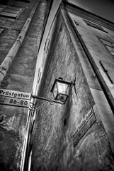 sideWalking (niK10d) Tags: street stockholm narrow pentaxk10d hdarchaeology
