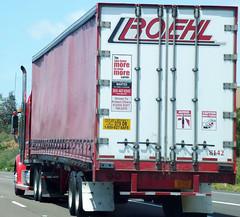 Roehl Truck (Photo Nut 2011) Tags: california truck freeway bigrig roehl