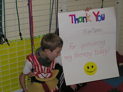 """day of therapy sponsor signs 017 • <a style=""""font-size:0.8em;"""" href=""""http://www.flickr.com/photos/94323781@N00/6990503968/"""" target=""""_blank"""">View on Flickr</a>"""