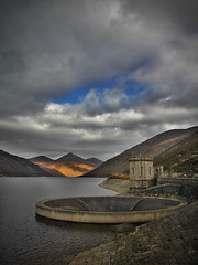 Silent valley (Alan10eden) Tags: canon landscape sigma reservoir northernireland 1770 outlet mournemountains countydown silentvalley 60d