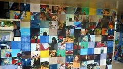 mural (jmarconi) Tags: braslia df clown dia praa poesia palhao indigenous ndio palhaada asasul 19deabril galdino paradapotica