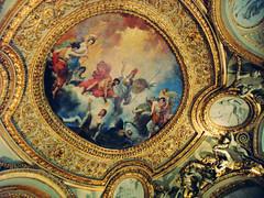 (Wednesday.Ree) Tags: paris france art vintage gold louvre ceilings parís louvresceilings