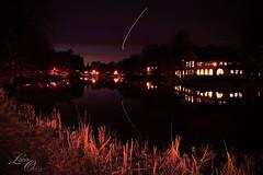 Washington Park (kweenofulz73) Tags: park lake reflection night pond albany washingtonpark