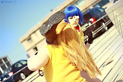 Boot to the Face. (tonicnebula) Tags: photoshoot cosplay animecentral ikkitousen ryomoushimei hakufusonsaku acenphotoshoot
