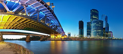3AK_3303-Panorama-s (3AK) Tags: city bridge panorama night river lights nikon moscow 1835 d300