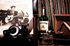 Comes a Time (Novacane) Tags: lighting music irish records love glass pen relax cool stacy smoke young vinyl neil whiskey cigar olympus ron albums edge sound whisky taste straight earphones razor jameson ep1 herf hmidor