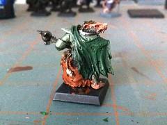Battle Standard Bearer WIP (benjibot) Tags: warhammer chieftain skaven battlestandardbearer