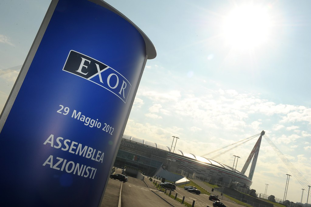 Shareholders' meeting EXOR at Juventus Stadium