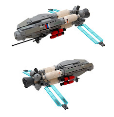 (Brainbikerider) Tags: world real lego contest russian spacecraft moc starfighter chernobog foitsop