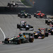 Kovalainen, Vergne, Ricciardo, Maldonado, De La Rosa, Glock, Petrov, Pic and Karthikeyan