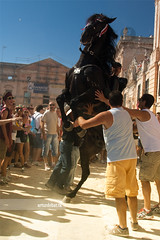 Festes de Sant Joan 2012 (arturii!) Tags: trip travel summer people horse sun hot beauty up wow john caballo islands amazing nice jump holidays europa europe day tour superb awesome traditional great culture sunny route heat stunning viatge vacations animalplanet menorca gettyimages ciutadella standup cavall estiu getup balearicisland jaleos canoneos400d festesdesantjoan arturii arturdebattk interetesting