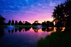 Crystal Sunset (Doug Wallick) Tags: sunset haven reflection cemetery minnesota gardens memorial crystal glen lightroom a55 mygearandme mygearandmepremium mygearandmebronze mygearandmesilver mygearandmegold mygearandmeplatinum mygearandmediamond picmonkey