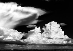 Castle in the Sky (alix.kreil) Tags: sky cloud white canada storm black nature field weather highway country alberta