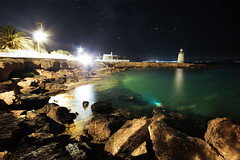 night water (alphaios) Tags: sea water night canon meer nacht 10 sigma greece mm 20 griechenland aigina 550d
