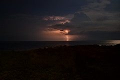 July 1, 2012 (Joe Raffa) Tags: storm beach night clouds lbi longbeachisland lightning