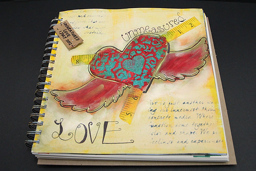 Art Journal Pages Ideas Love an Art Journal Page
