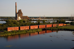 Paper Mill Switch (Missabe Road) Tags: bnsf 3702 nonamecreek 3701 mp15 papermillswitch