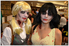 VA Comicon - Betty and Veronica Zombies (Joey K!) Tags: comics virginia costume comic cosplay zombie betty veronica roanoke va convention archie comicon con riverdale