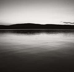 Lake Champlain Sunset 02 (frntprchprss) Tags: sunset blackandwhite square lakechamplain orwellvt fixedshadows