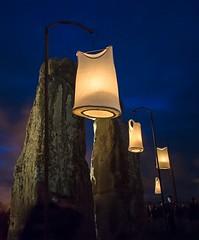 Fire Garden at Stonehenge (steverh) Tags: stonehenge firegarden compagniecarabosse lumix14f25 olympusem5