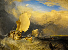 Joseph Mallord William Turner - Fishing Boats with Hucksters Bargaining for Fish, 1838 at Art Institute of Chicago IL (mbell1975) Tags: usa fish chicago art english museum painting joseph boats for us illinois fishing gallery museu with unitedstates fine arts william musée musee m il institute british museo turner muzeum beaux beauxarts müze bargaining hucksters 1838 mallord museumuseum jmwt