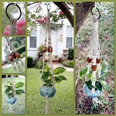 Macrame Plant Hanger- Natural Hemp- Naturalistic (Macramaking- Natural Macrame Plant Hangers) Tags: brown plant green kitchen beauty hippies garden happy beads office nc natural herbs gardening handmade oneofakind steel character cottage ivy northcarolina funky retro gift hanging fengshui flowing organic chic cheerful pecan boho planter frontporch darling groovy knots hang bohemian homedecor hanger macrame fibers hemp detailed madeinusa ecofriendly accessory conversationpiece hangingbasket oblong shabbychic hangingbaskets bohochic containergardening macram planthanger upcycled alternating planthangers hangingplanter macramebeads decorativeknotting naturalhemp macrameplanthanger macramakin macramaking httpwwwetsycomshopmacramaking macramecord macrammacramaking macracord macrametechnique macramehangingbasket macrameweaving macramelove