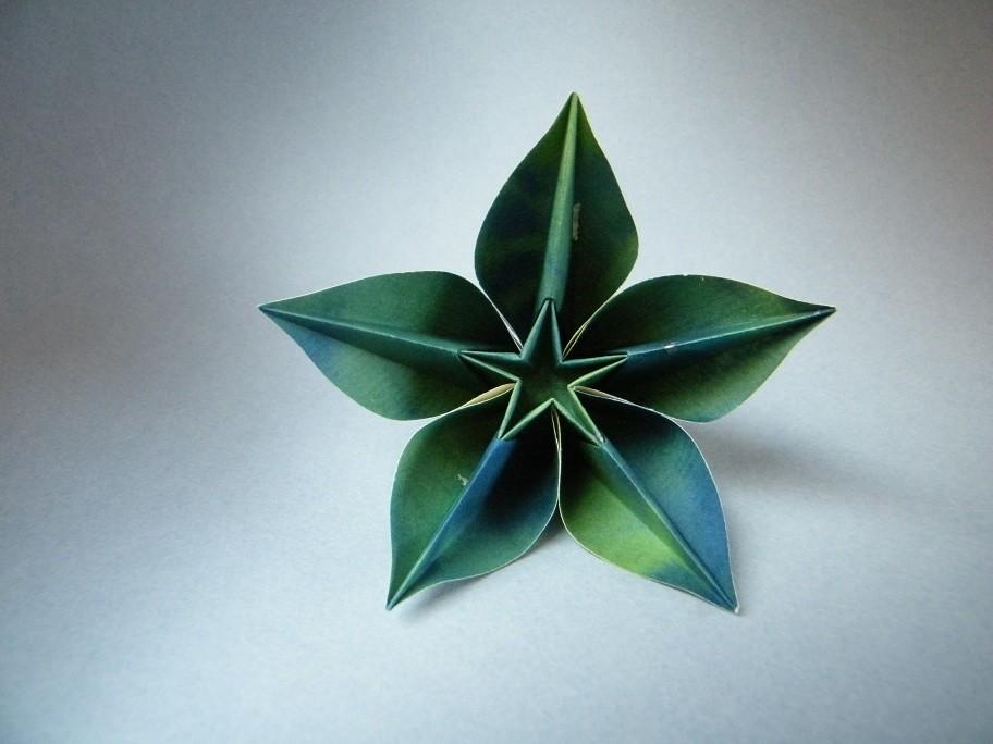 Carambola Carmen Sprung RuiRoda Tags Flower Fleur Origami Flor