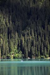 Magia del lago (Grandangolo) Tags: italien italy lago see barca italia abete acqua azzurro italie bolzano bozen anterselva nikonflickraward flickraward antolz