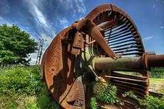 Rusted turbine (elementalPaul) Tags: scotland rust pentax tripod turbine hdr sigma1020mm prestongrange photomatixpro 5xp k10d pentaxk10d