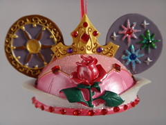 Disney Princess and Villain Ear Hat Ornament Collection - First Look - Aurora - Front View (drj1828) Tags: hat princess disney collection ornament aurora ear sleepingbeauty 2012