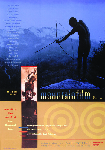 2004 Mountainfilm in Telluride Festival Poster