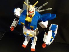 GUNDAM BZ DEFENDER (boyzwiththemosttoyz) Tags: lego gundam mech