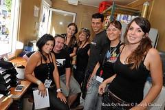 Staff & Backstage dimanche 05 août 2012 /