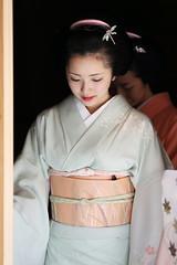 Charming (Teruhide Tomori) Tags: hassaku 八朔 maiko kyoto japan 舞妓 lady traditional kimono obi kagai 京都 日本 花街 着物 日本髪 portrait earthasia