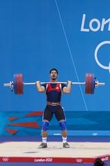 Weightlifting Men's 94kg Group B - 052 (Pilou@SF) Tags: raw weightlifting olympics london2012 olympiques londres2012 94kghommesgroupeb 94kgmengroupb halterophilie abbasalqaisoum