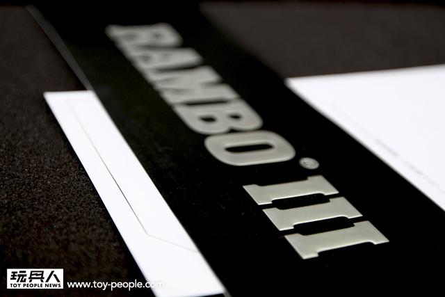 ENTERBAY HD Masterpiece 1/4 Rambo III 藍波 開箱報告