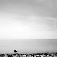 Baltic Sea 2012, #03 (Patrick_Opierzynski) Tags: sea beach strand meer fineart balticsea steine shore silence monochrom stein ostsee kste sehnsucht schwarzweis baclkwhite ruhequietness